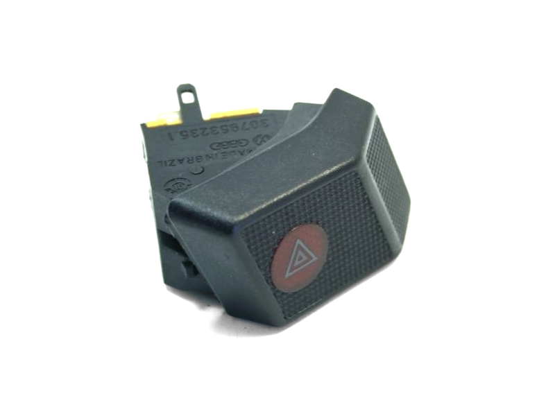 Hazard Flashers Dash Switch VW Fox 87-93 - Genuine - 307953235.1