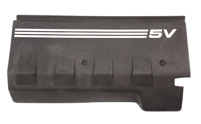 RH Plastic Engine Valve Cover Trim 00-03 Audi A8 S8 D2 - Genuine - 077 103 724 D