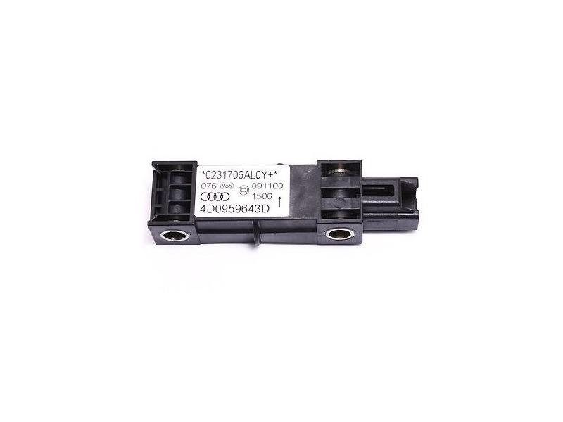 Side Impact Crash Sensor 00-03 Audi A8 S8 D2 - Genuine - 4D0 959 643 D