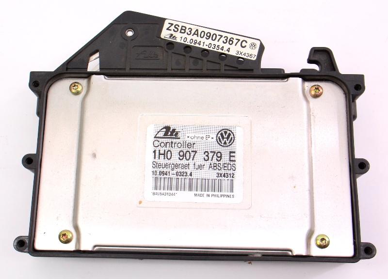 ABS Brake Computer Module 93-95 VW Passat Jetta Golf Cabrio - 1H0 907 379 E