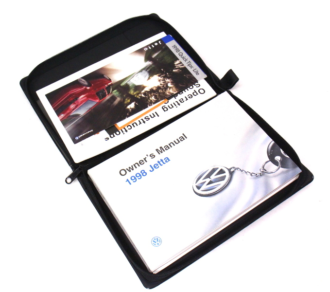 1996 Vw Cabrio Owners manual