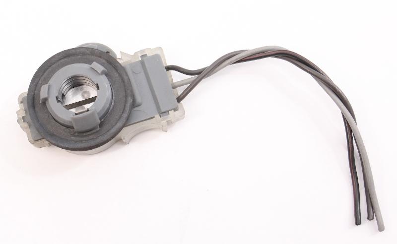 3 Wire Tail Light Bulb Socket Holder Lamp Plug 81-92 VW Golf Rabbit GTI MK1 MK2