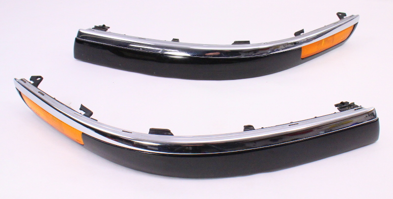 US Spec Bumper Molding Rub Strips 01-05 VW Passat B5.5 Chrome Trim - 3B0 807 718