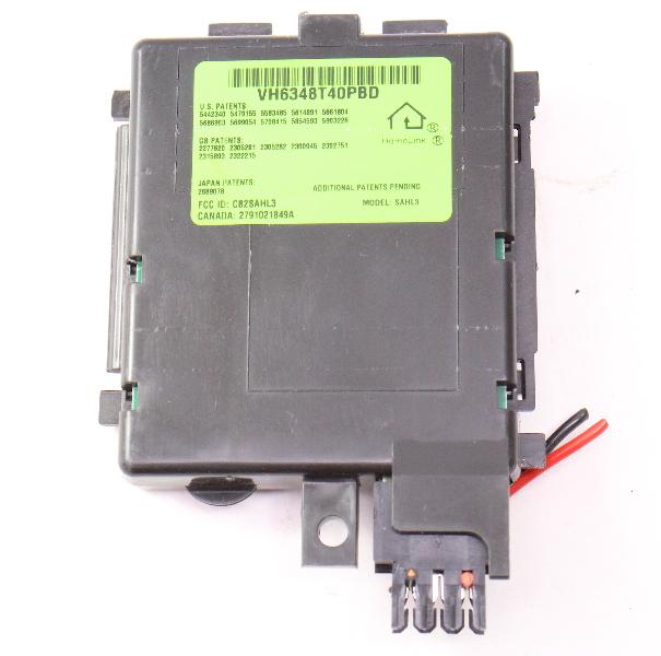 Homelink Sunvisor Sun Visor Module 98 05 Vw Pat B5 Garage Opener Sahl3 Carparts4 Inc