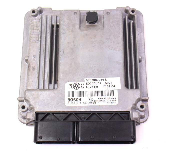 Ecu Ecm Engine Computer Module 04