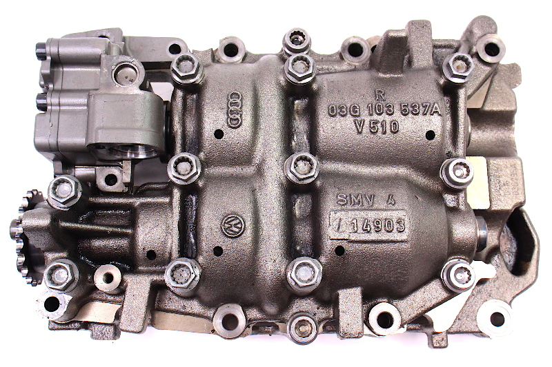Engine Oil Pump 04-05 VW Passat TDI Diesel BHW - 03G 103 537 A / 03G 103 535 A