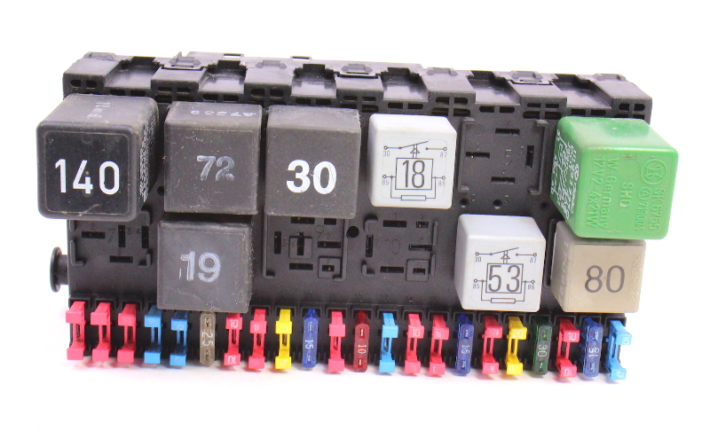 upgrading to breaker box fuse box eurovan fuse box fuse box fuse block fusebox & relays 92-96 vw eurovan t4 ... #15