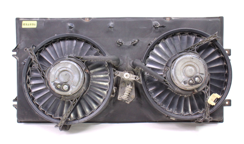 Electric Radiator Fan Motor Assembly 92-96 VW Eurovan T4 - Genuine - 701 121 207 B