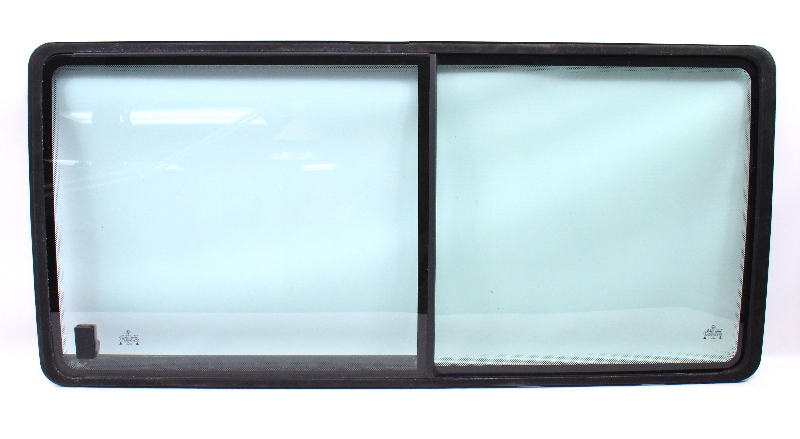 LH Rear Side Window Exterior Glass 92-03 VW Eurovan T4 - Genuine