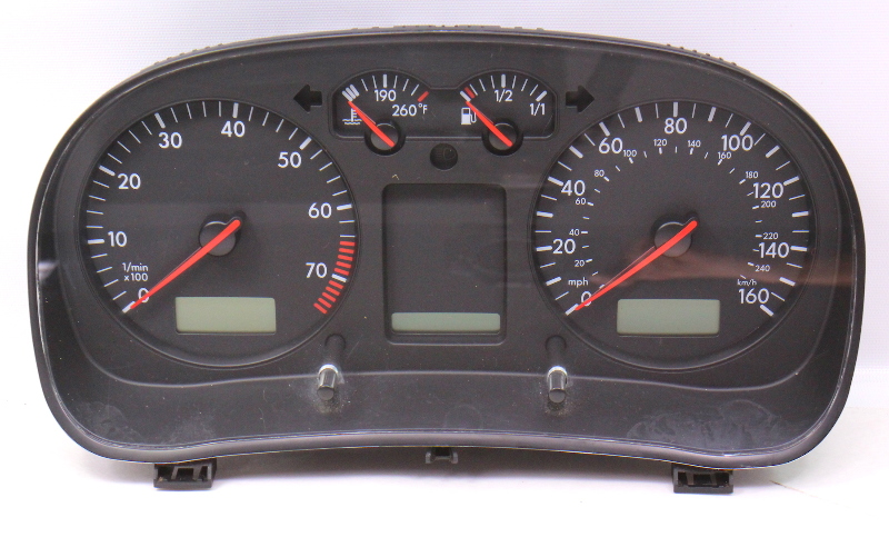 Gauge Cluster Speedometer Speedo 01-03 Vw Jetta Golf Mk4