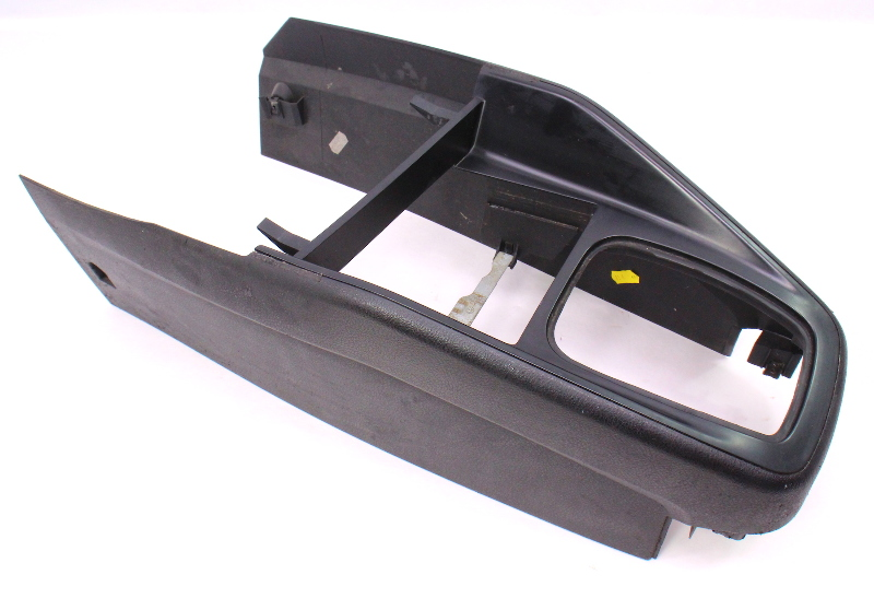 Front Center Console Shifter Trim 99-05 Vw Jetta Golf Mk4 Black