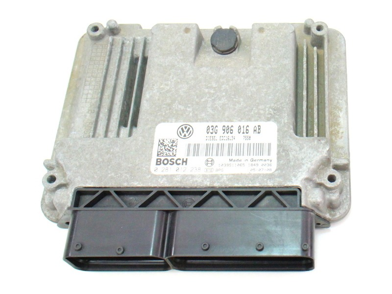 ECU ECM Engine Computer 06-07 VW Jetta MK5 TDI Diesel - 03G 906 016 AB