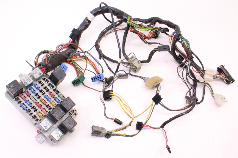 Dash Interior Wiring Harness Fuse Box 81 83 Vw Rabbit
