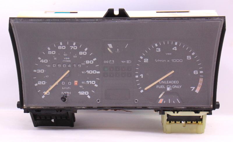 Gauge Cluster Speedometer Tach VW Jetta Golf GTI MK2 ~ Genuine ~ 191 919 035 DK