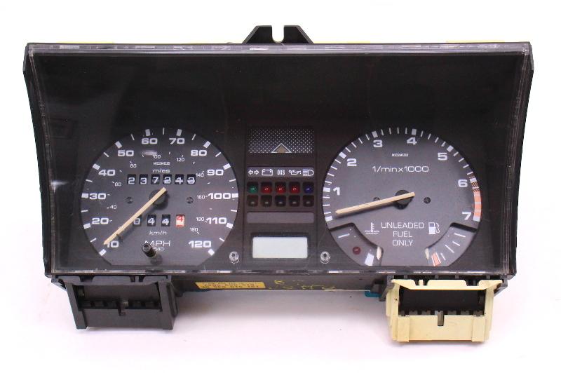 Gauge Cluster Speedometer Tach VW Jetta Golf GTI MK2 - Genuine - 191 919 035 DE