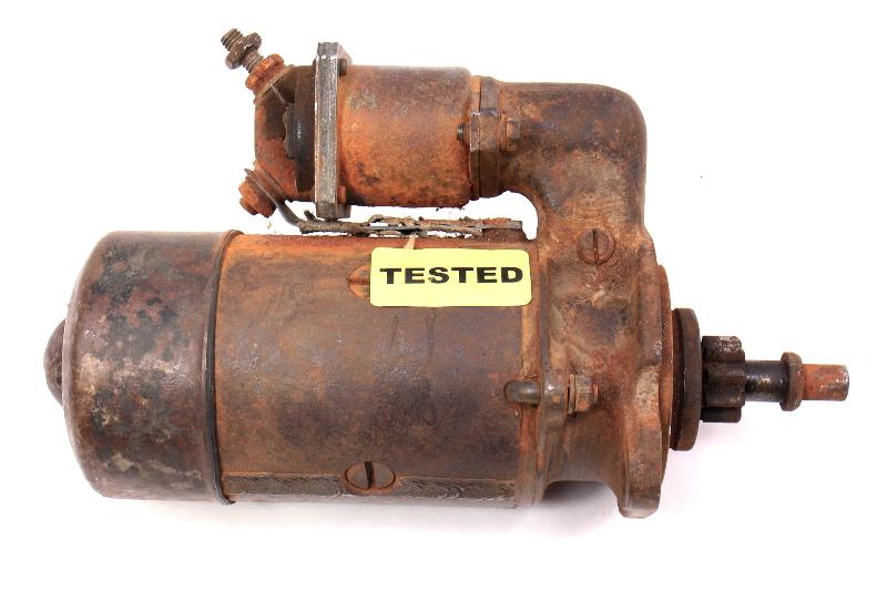 Starter 45-57 VW Beetle Bug Aircooled 6 Volt - Genuine Bosch