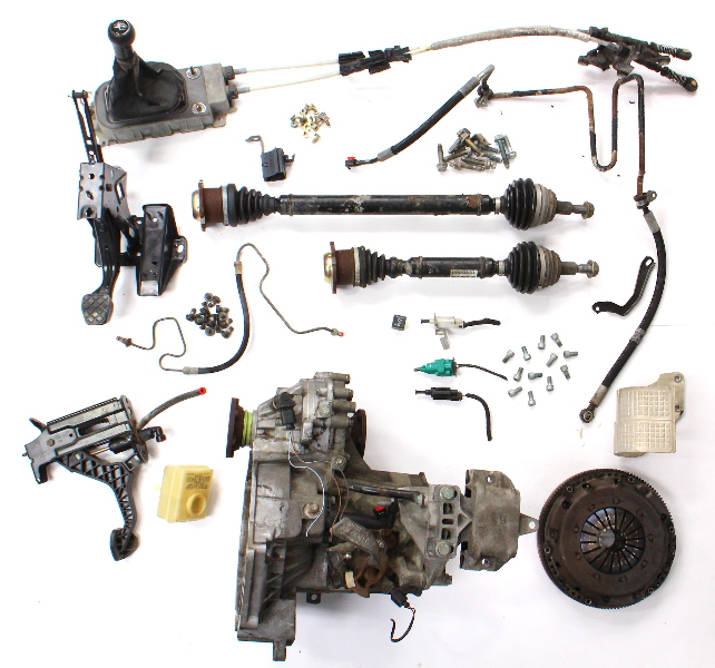 Manual Transmission Swap Parts Kit 99-05 VW Jetta GTI MK4 VR6 DCZ 5 Speed