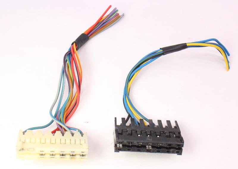 gauge cluster wiring harness pigtail plugs 85 92 vw jetta golf gtigauge cluster wiring harness pigtail plugs 85 92 vw jetta golf gti mk2