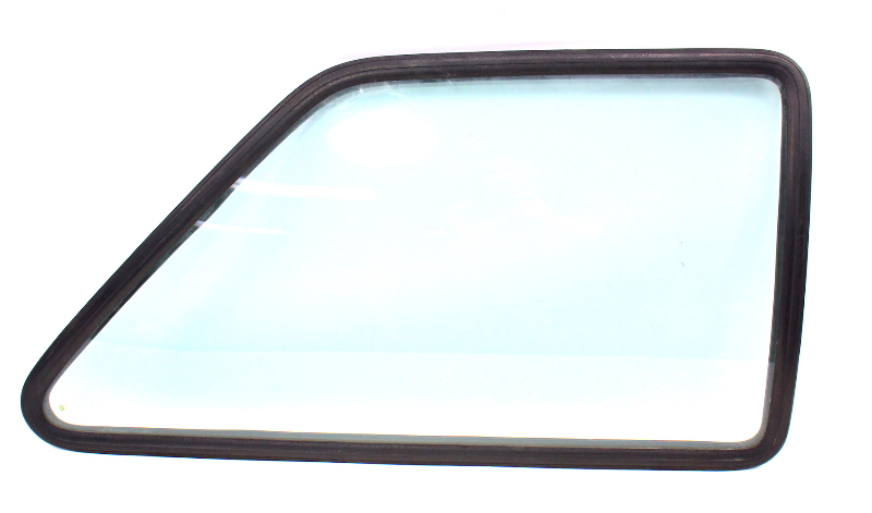 RH Rear Side Window Quarter Glass & Seal 85-92 VW Jetta MK2 Coupe 2 Door