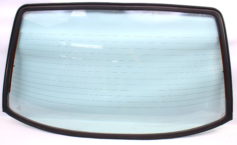 Rear Back Glass & Seal 85-86 VW Jetta Mk2 - Genuine