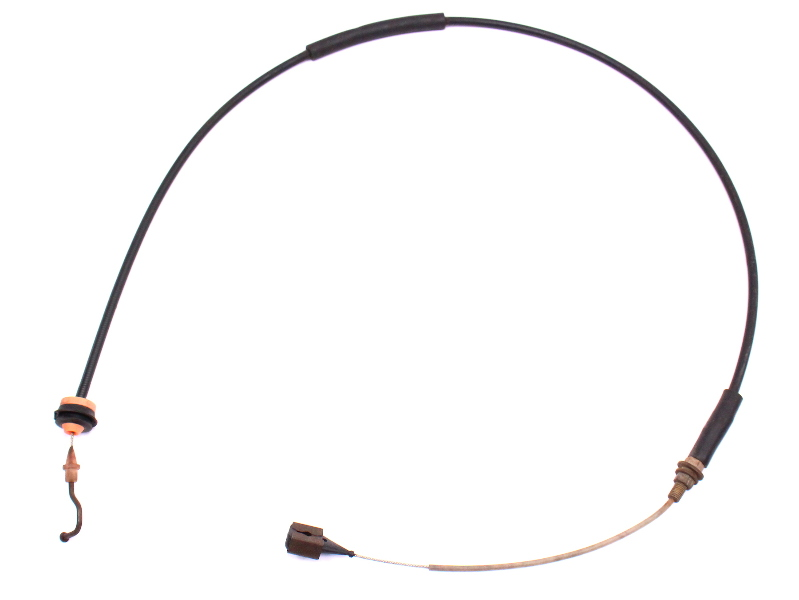 Throttle Cable 1.5 1.6 75-84 VW Rabbit Pickup Jetta Scirocco MK1 - Genuine