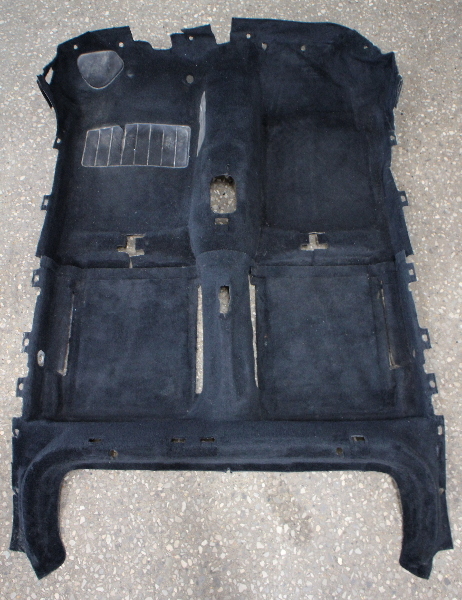 Interior Floor Carpet 85-92 VW Golf GTI MK2 - Genuine - Black