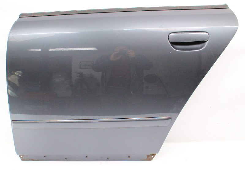 LH Rear Door Shell Skin 02-05 Audi A4 S4 B6 - LX7Z Dolphin Grey