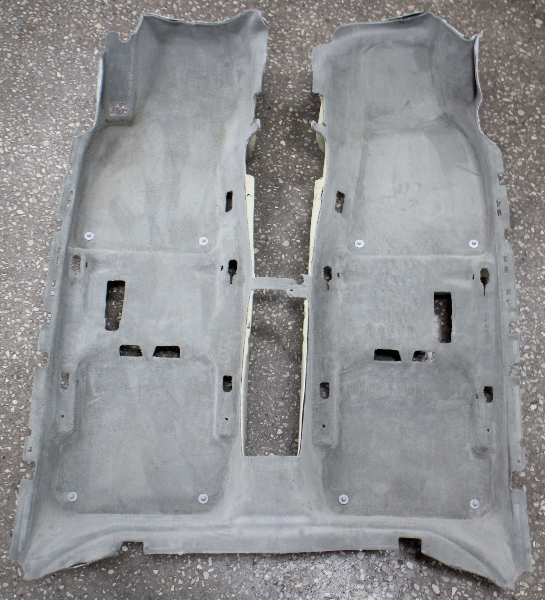 Interior Carpet Floor Gray 02-05 Audi A4 S4 B6 - Genuine