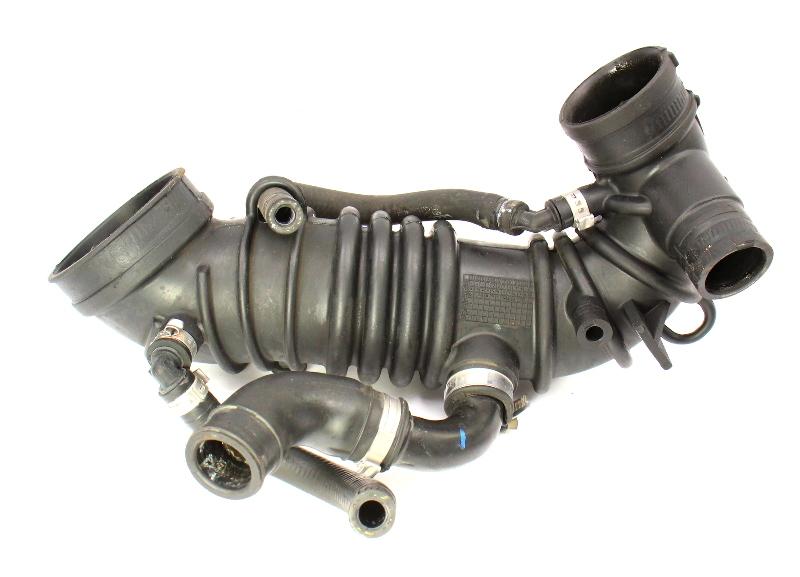 Air Intake Boot Tube Turbo Inlet 02-06 Audi A4 B6 1.8T - Genuine - 06B 133 356 AA