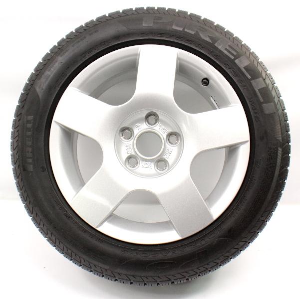 "Full Size Spare Alloy Wheel Rim & Tire 16"" 5x112 VW Audi A4 B6 ~ 8E0 601 025 C"