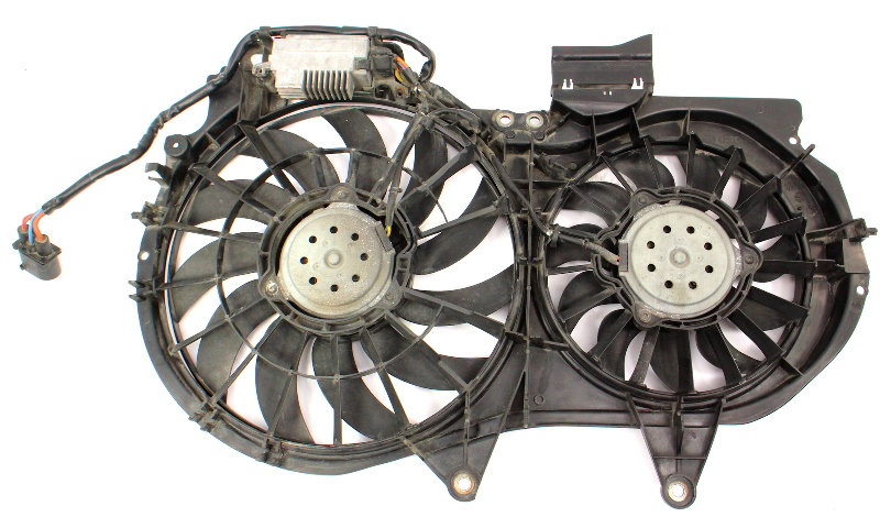 Cooling Fan Assembly & Module 02-03 Audi A4 B6 1.8T Valeo - 8E0 121 205 N