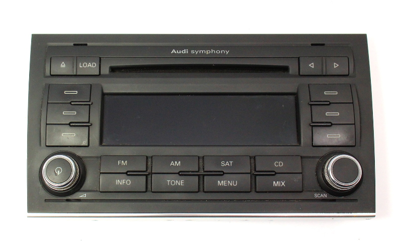 Radio Audio Head Cd Unit Face Plate 06-08 Audi A4 B7 - Genuine