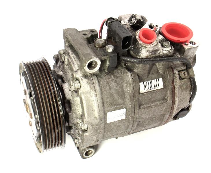 AC A/C Compressor 02-03 Audi A4 B6 1.8T 3.0 - Genuine Denso