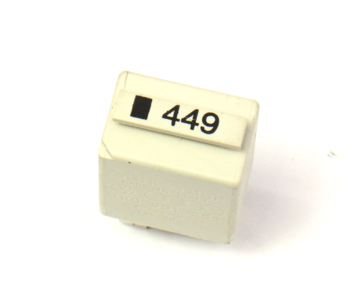 Relay # 449 VW Audi Passat Jetta Golf A4 A6 - Genuine - 1K0 951 253