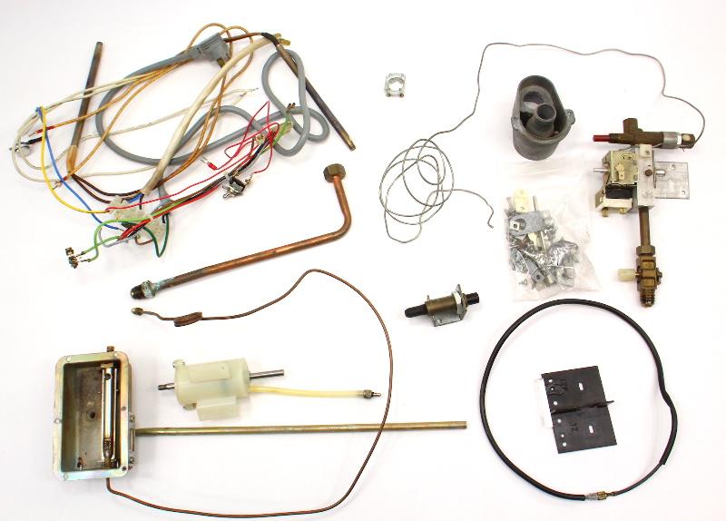 Fridge Frig Parts Lot Wiring Valve 80-91 VW Vanagon T3 Camper Westfalia Dometic