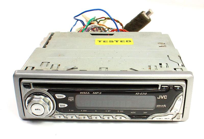 JVC KD-G310 Old School Vintage CD Player Car Radio Head Unit