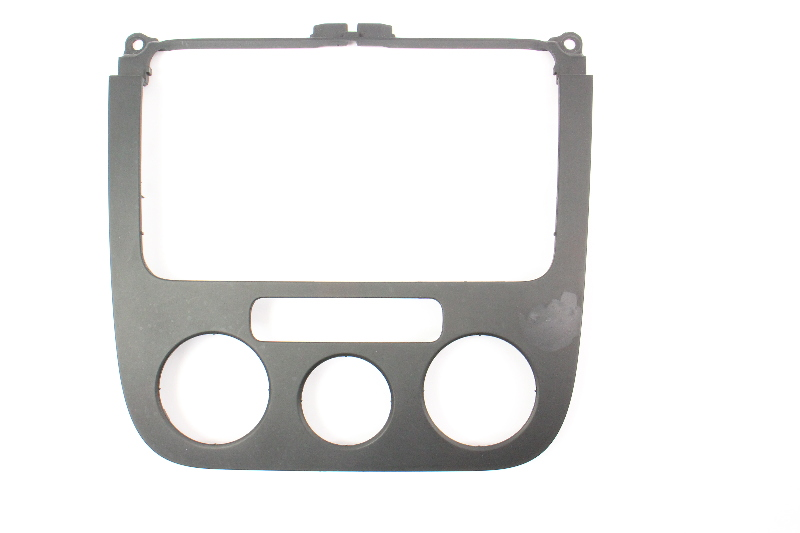 Radio Climate Dash Trim Panel 05 10 Vw Jetta Rabbit Golf