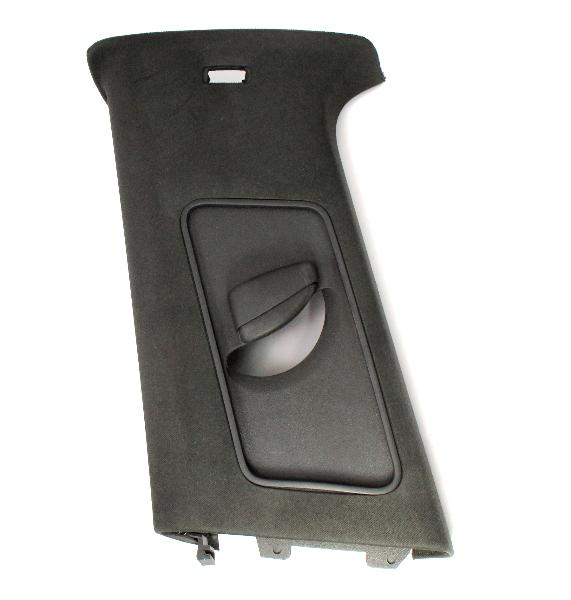 LH B Pillar Trim Cover 05-09 VW Rabbit GTI MK5 2 Door Black - 1K3 867 243