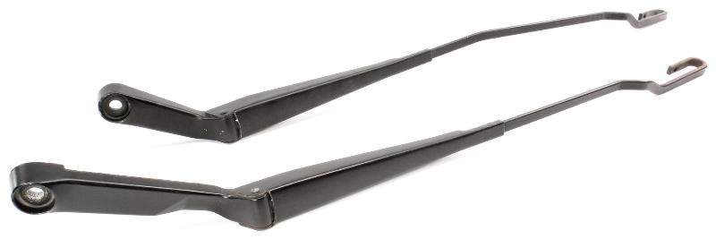 Windshield Wiper Arm Set 93-99 VW Jetta Golf GTI Cabrio Mk3 1H1 955 410 A 409 B