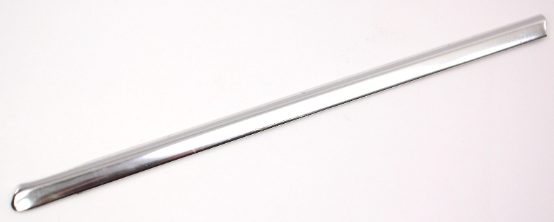 RH Rear Quarter Window Chrome Trim Molding 96-99 Audi A4 B5 - Genuine