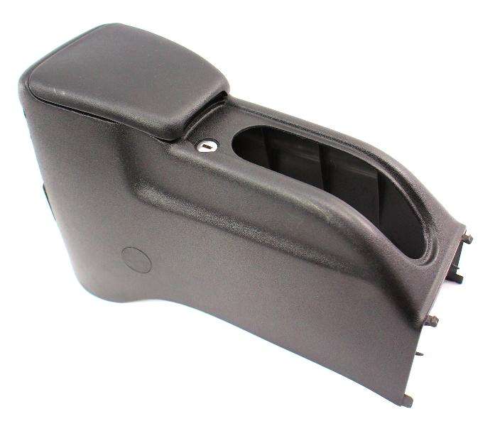 Center Console Arm Rest 99-02 VW Cabrio MK3 MK3.5 -  Black - 1HM 863 319 B