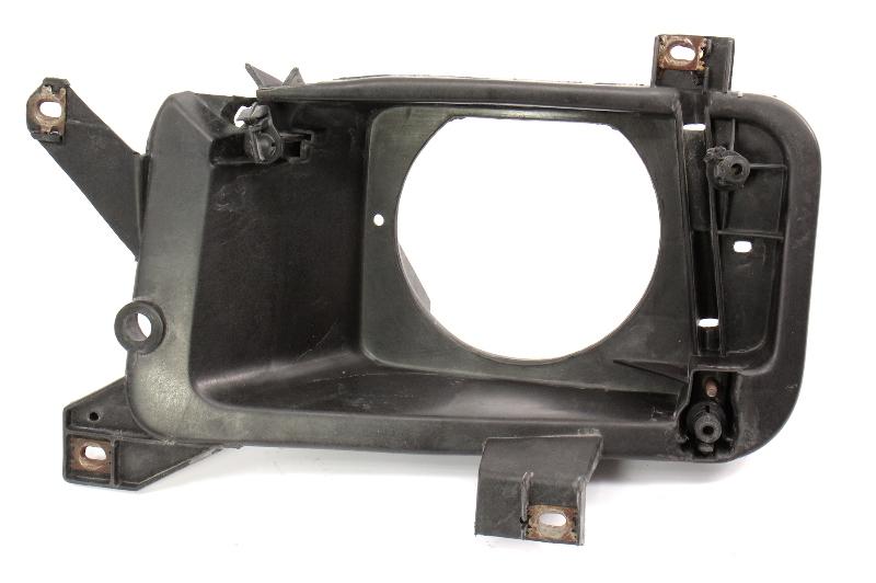 LH Headlight Mount Cage Bracket 93-99 VW Jetta MK3 Head Light Lamp