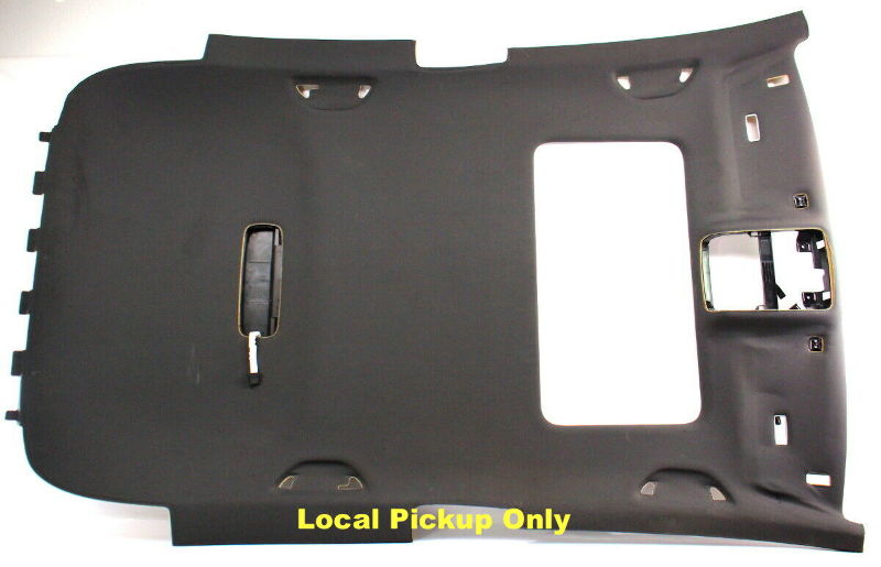 Black Upper Headliner Interior Ceiling 06-09 VW Rabbit GTI MK5 - 1K3 867 501 AJ