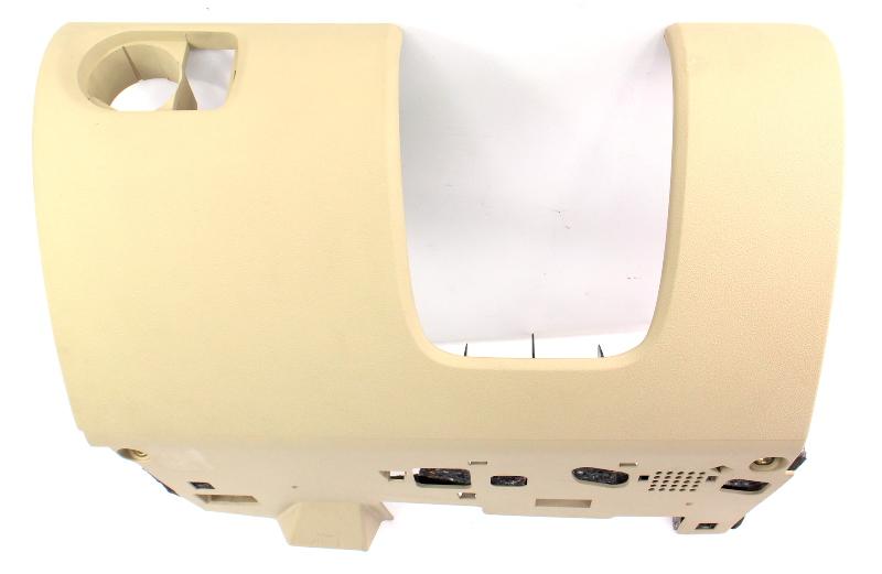 LH Lower Dash Panel Interior Trim 06-12 Audi A3 - Beige - 8P1 880 301