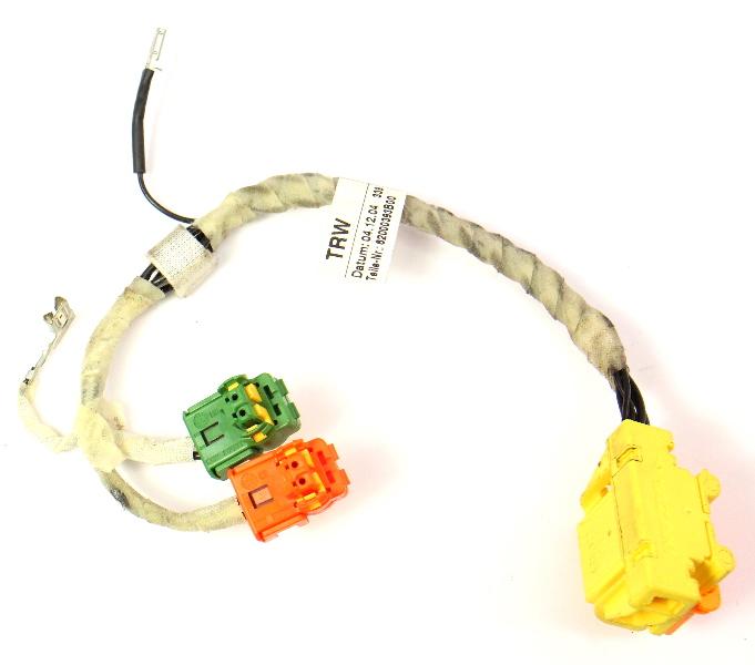 Steering Wheel Air Bag Airbag Wiring Harness Plugs Audi A3 - 8P0 971 589 K