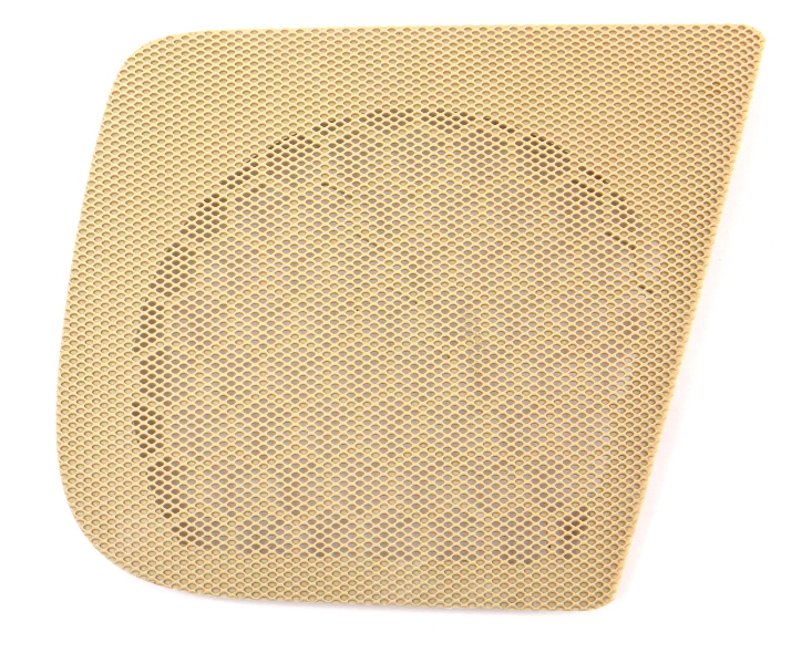 RH Rear Door Speaker Grill Grille Cover Screen 06-13 Audi A3 Beige - 8P4 035 436