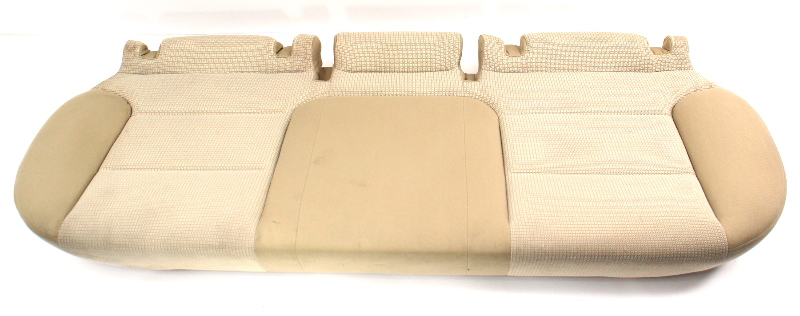 Rear Back Lower Seat Cushion & Cover 06-13 Audi A3 8P - Beige Cloth