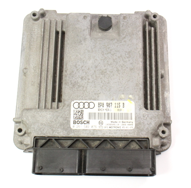 Engine Computer ECU ECM 06-07 Audi A3 2.0T FSI -  Genuine - 8P0 907 115 B