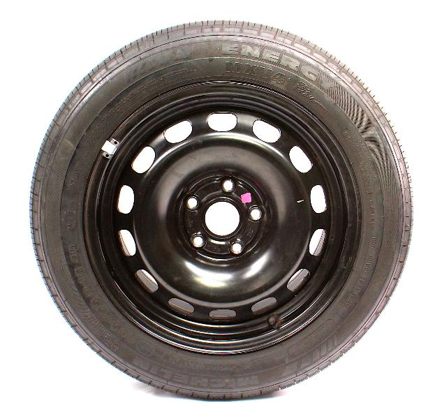 Cp X Steel Spare Wheel Rim Tire Vw Passat Audi A X B F G