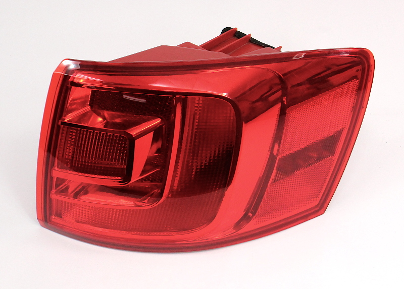 RH Passenger Outer Tail Light Lamp 11-14 VW Jetta MK6 Sedan - TYC 11-11861B